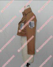画像4: 進撃の巨人 リヴァイ 調査兵団 エレン・イェーガー ミカサ アルミン ジャケット コート コスプレ衣装 (4)