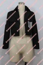 画像1: 高品質 実物撮影 進撃の巨人 調査兵団 コート 風  コスプレ衣装 コスチューム オーダーメイド (1)