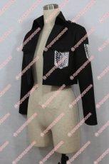 画像3: 高品質 実物撮影 進撃の巨人 調査兵団 コート 風  コスプレ衣装 コスチューム オーダーメイド (3)