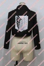 画像5: 高品質 実物撮影 進撃の巨人 調査兵団 コート 風  コスプレ衣装 コスチューム オーダーメイド (5)