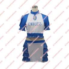 画像1: ENDLESS レースクイーン チアガール セパレート エンドレス風 コスチューム コスプレ衣装 (1)