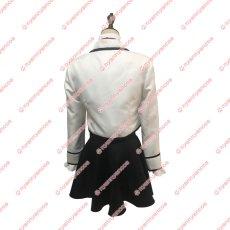 画像3: 高品質 実物撮影 寄宿学校のジュリエット 白猫の寮制服 シャルトリュー・ウェスティア 風  コスプレ衣装 コスチューム オーダーメイド (3)