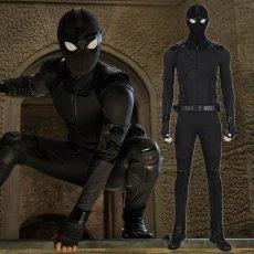 画像1: 【専用ページ】2019映画  Spider-Man 2 スパイダーマン:ファー・フロム・ホーム ピーター・パーカー ステルス スーツ Stealth suit コスプレ衣装 (1)