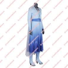 画像2: 高品質 実物撮影 2019映画 Frozen II アナと雪の女王2 アナ雪 エルサ Elsa  コスプレ衣装 コスプレ靴 バラ売り可 コスチューム オーダーメイド (2)