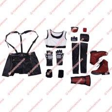 画像11: 高品質 実物撮影   FF7 ファイナルファンタジーVII ティファ ロックハート Tifa 風  コスプレ衣装 コスプレ靴 ブーツ  コスチューム オーダーメイド (11)