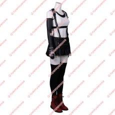 画像3: 高品質 実物撮影   FF7 ファイナルファンタジーVII ティファ ロックハート Tifa 風  コスプレ衣装 コスプレ靴 ブーツ  コスチューム オーダーメイド (3)