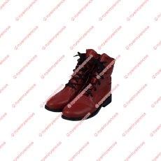 画像10: 高品質 実物撮影   FF7 ファイナルファンタジーVII ティファ ロックハート Tifa 風  コスプレ衣装 コスプレ靴 ブーツ  コスチューム オーダーメイド (10)