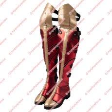 画像13: 高品質 実物撮影 2020映画 Wonder Woman 1984 ワンダーウーマン2 ダイアナ プリンス 風 コスプレ衣装 コスプレ靴 ブーツ付き バラ売り可 (13)