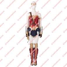 画像6: 高品質 実物撮影 2020映画 Wonder Woman 1984 ワンダーウーマン2 ダイアナ プリンス 風 コスプレ衣装 コスプレ靴 ブーツ付き バラ売り可 (6)