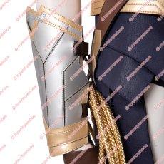 画像9: 高品質 実物撮影 2020映画 Wonder Woman 1984 ワンダーウーマン2 ダイアナ プリンス 風 コスプレ衣装 コスプレ靴 ブーツ付き バラ売り可 (9)