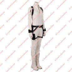 画像3: 高品質 実物撮影 ブラック ウィドウ ナターシャ ロマノフ 風 白いスーツ コスプレ衣装 コスプレ靴 ブーツ付き バラ売り可 (3)