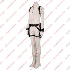 画像4: 高品質 実物撮影 ブラック ウィドウ ナターシャ ロマノフ 風 白いスーツ コスプレ衣装 コスプレ靴 ブーツ付き バラ売り可 (4)