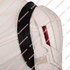 画像6: 高品質 実物撮影 ブラック ウィドウ ナターシャ ロマノフ 風 白いスーツ コスプレ衣装 コスプレ靴 ブーツ付き バラ売り可 (6)
