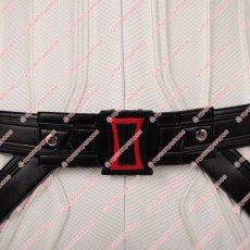 画像7: 高品質 実物撮影 ブラック ウィドウ ナターシャ ロマノフ 風 白いスーツ コスプレ衣装 コスプレ靴 ブーツ付き バラ売り可 (7)