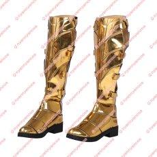 画像13: 高品質 実物撮影  ワンダーウーマン   ダイアナ プリンス 風  Wonder Woman 1984  2020映画   コスプレ衣装  コスプレ靴  ブーツ付き バラ売り可 (13)