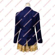 画像2: この音とまれ! 鳳月さとわ 時瀬高校女子制服 コスチューム コスプレ衣装 (2)