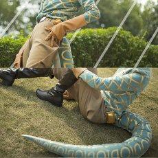画像4: 高品質 実物撮影 ジョジョの奇妙な冒険  ディエゴ ブランドー Dio  風    コスプレ衣装 コスチューム オーダーメイド (4)