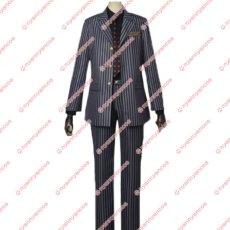 画像3: 高品質 実物撮影 ジョジョの奇妙な冒険 黄金の風 ディアボロ  風  スーツ  コスプレ衣装 コスチューム オーダーメイド (3)