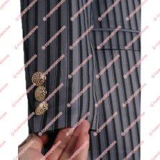 画像8: 高品質 実物撮影 ジョジョの奇妙な冒険 黄金の風 ディアボロ  風  スーツ  コスプレ衣装 コスチューム オーダーメイド (8)