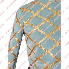 画像8: 高品質 実物撮影 ジョジョの奇妙な冒険  ディエゴ ブランドー Dio  風    コスプレ衣装 コスチューム オーダーメイド (8)