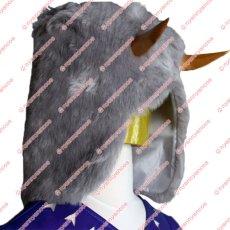 画像9: 高品質 実物撮影 ジョジョの奇妙な冒険 ストーンオーシャン ウェザー リポート ウェス ブルーマリン  風    コスプレ衣装 コスチューム オーダーメイド (9)