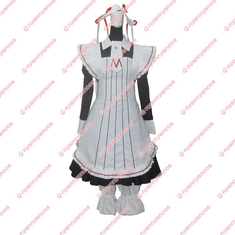 画像1: 高品質 実物撮影 黒執事 メイド服  風  コスプレ衣装 コスチューム オーダーメイド (1)