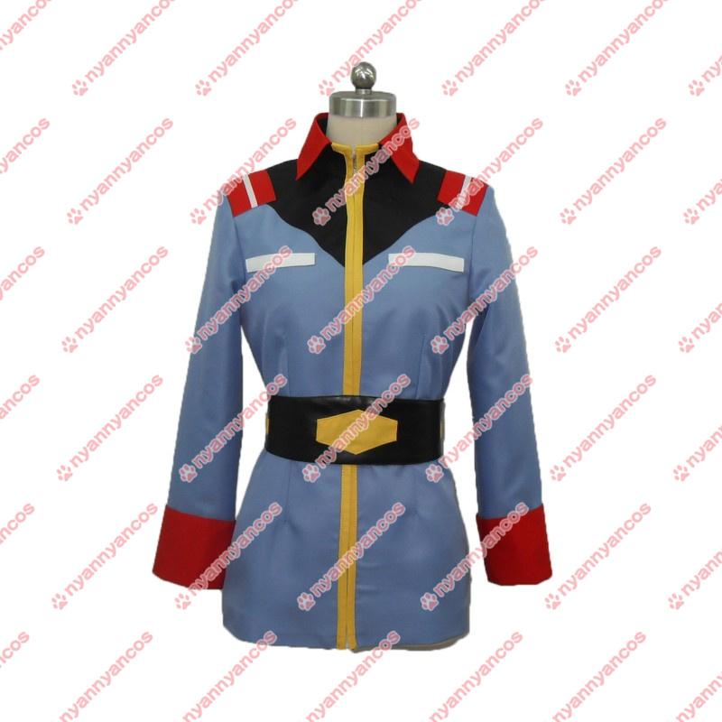 画像1: 機動戦士ガンダム 地球連邦軍 制服 コスプレ衣装 (1)