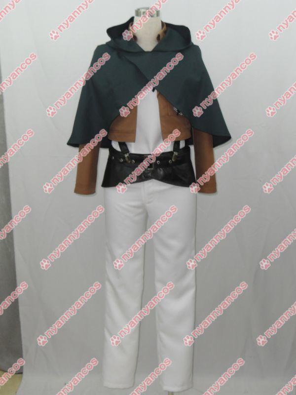 画像1: 進撃の巨人 エレン・イェーガー 訓練兵団 コスプレ衣装 (1)