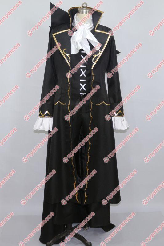 画像1: PandoraHearts パンドラハーツ グレン バスカヴィル コスプレ衣装 (1)