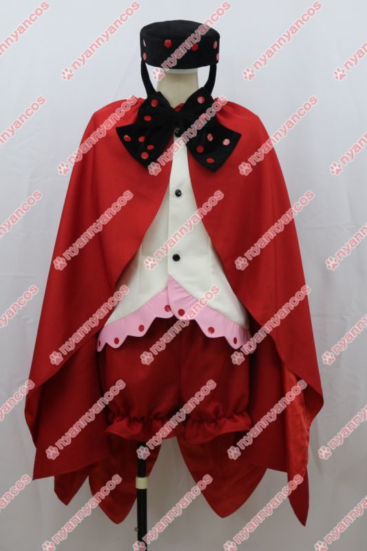 画像1: 魔法少女まどか☆マギカ シャルロッテ 擬人化 コスプレ衣装  (1)
