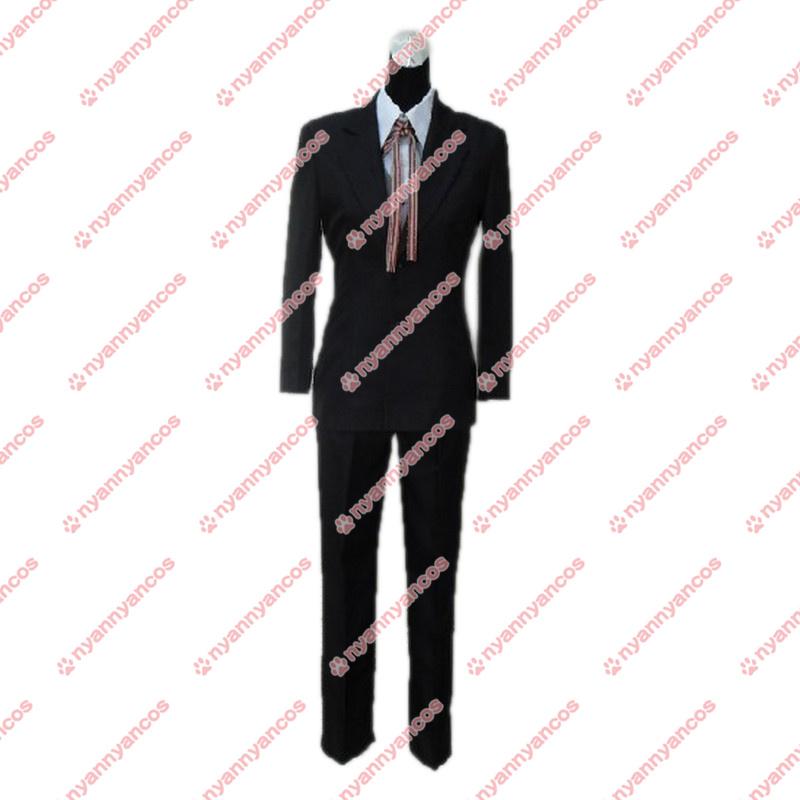 画像1: D.Gray-man ディーグレイマン アレン・ウォーカー スーツ コスプレ衣装 (1)