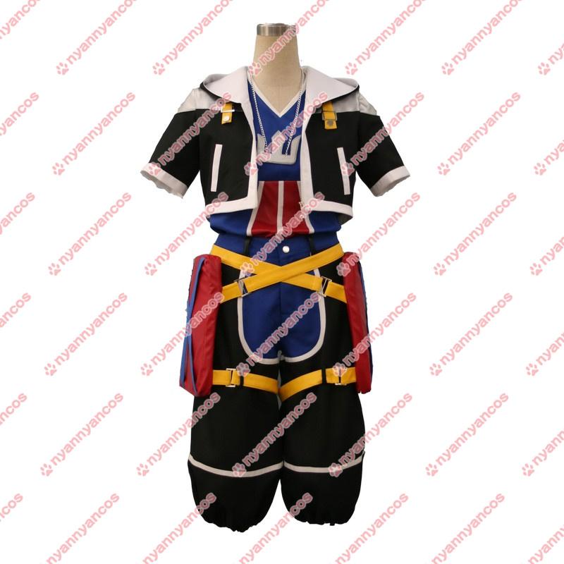 画像1: キングダムハーツ Kingdom Hearts ソラ Sora コスプレ衣装 (1)