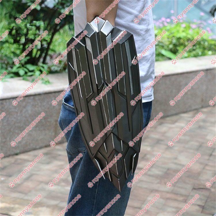 画像1: アベンジャーズ3 インフィニティ・ウォー キャプテン・アメリカ スティーブ・ロジャース 盾 シールド コスプレ道具 (1)