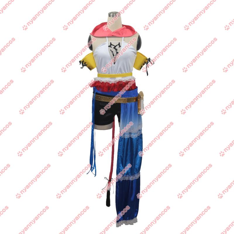画像1: ファイナルファンタジーX-2 FINAL FANTASY X-2 YUNA ユウナ コスチューム コスプレ衣装 (1)