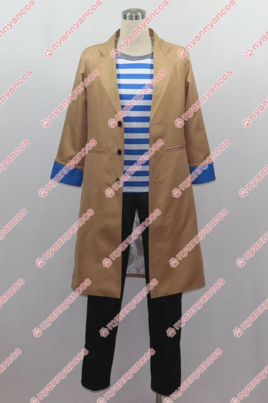画像1: 高品質 実物撮影 A3! エースリー 月岡紬(つきおか つむぎ) 風 コスプレ衣装 コスチューム   オーダーメイド (1)