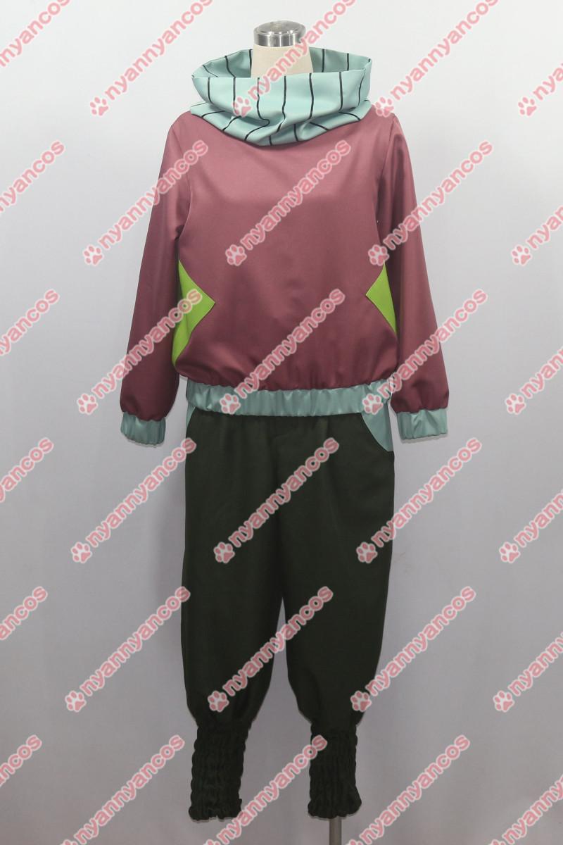 画像1: 新幹線変形ロボ シンカリオン 月山シノブ コスプレ衣装 (1)