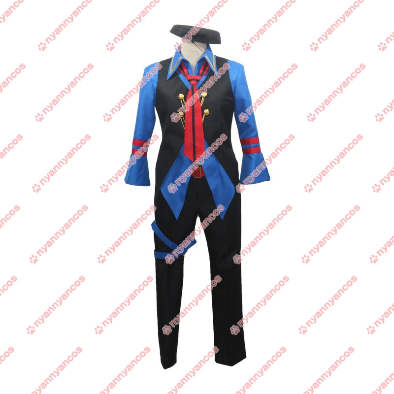 画像1: キンプリ KING OF PRISM キング・オブ・プリズム 速水ヒロ コスチューム コスプレ衣装 (1)