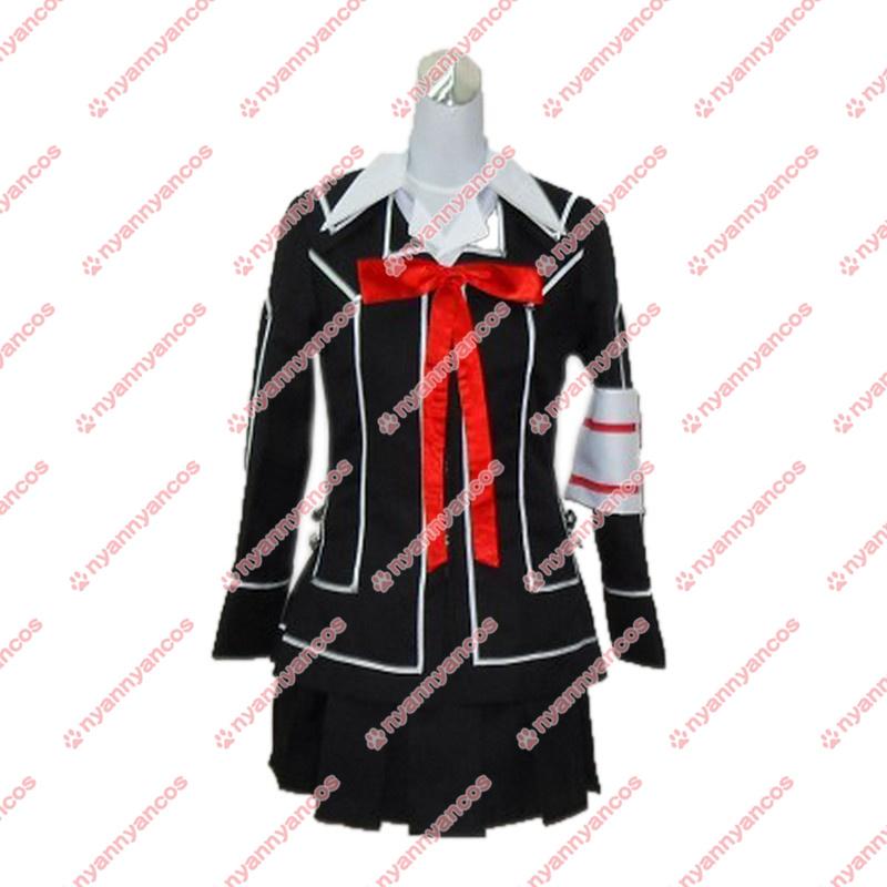 画像1: Vampire Knight ヴァンパイア騎士 夜間部女子制服 コスプレ衣装 (1)