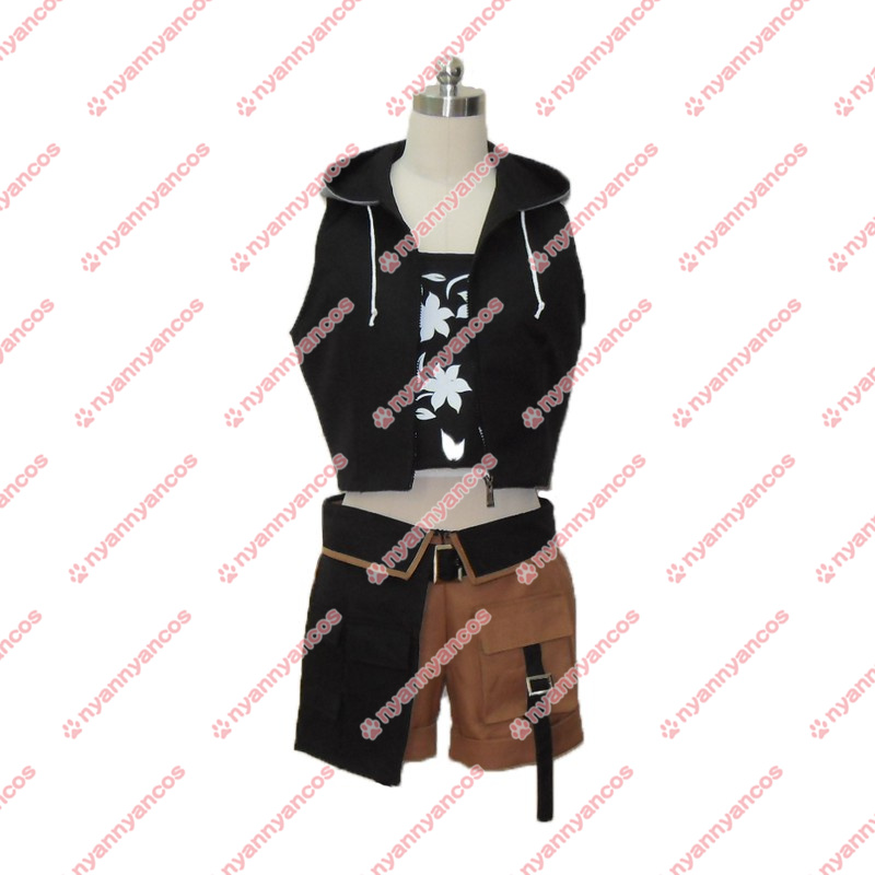 画像1: FF ファイナルファンタジーVII ユフィ・キサラギ FFVII FF7 コスプレ衣装 (1)