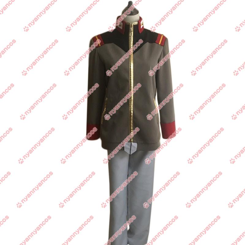 画像1: 高品質 実物撮影 機動戦士ガンダムNT ヨナ・バシュタ 風  コスプレ衣装 コスチューム オーダーメイド無料 (1)