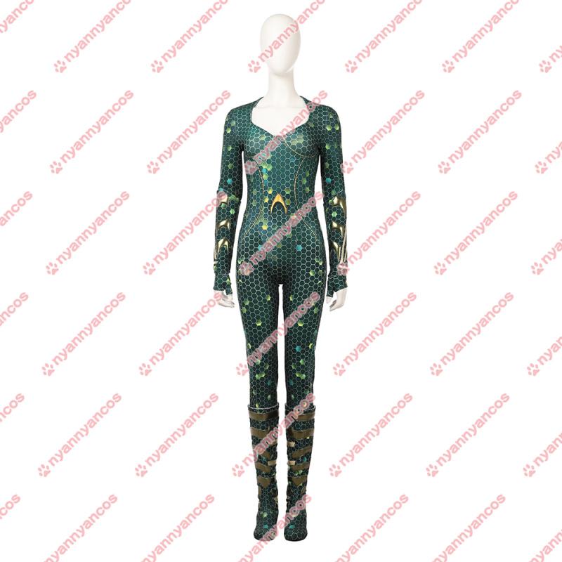 画像1: Aquaman アクアマン メラ コスプレ靴 コスプレ衣装 (1)