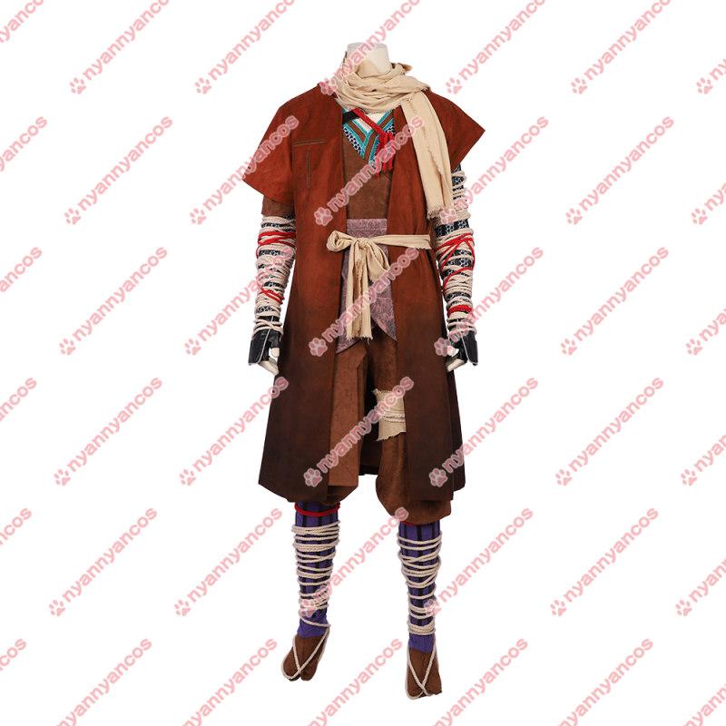 画像1: SEKIRO: SHADOWS DIE TWICE 隻狼 コスプレ衣装 (1)
