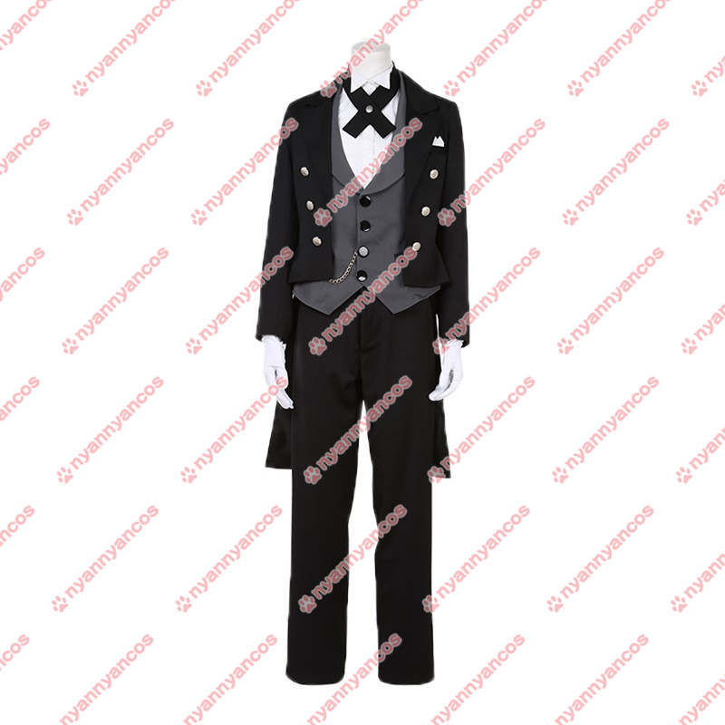 画像1: ペルソナ3 ダンシング・ムーンナイト結城理 コスチューム コスプレ衣装 (1)