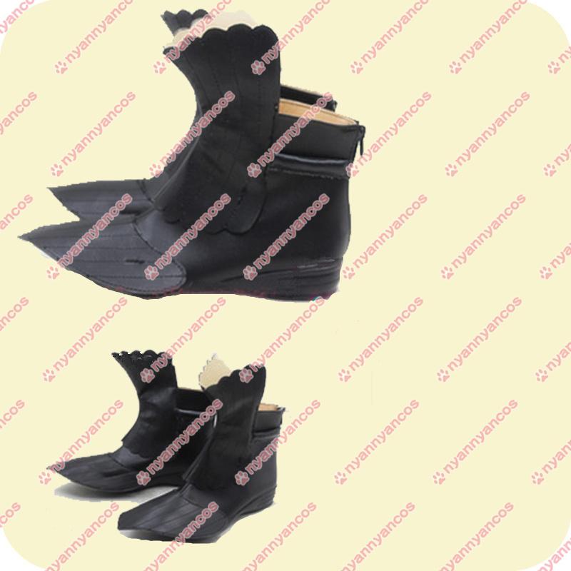 画像1: 高品質 実物撮影 刀剣乱舞 とうらぶ 浦島虎徹    コスプレ靴 ブーツ (1)