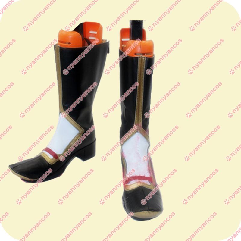 画像1: 高品質 実物撮影 刀剣乱舞 とうらぶ 歌仙兼定 コスプレ靴 ブーツ (1)