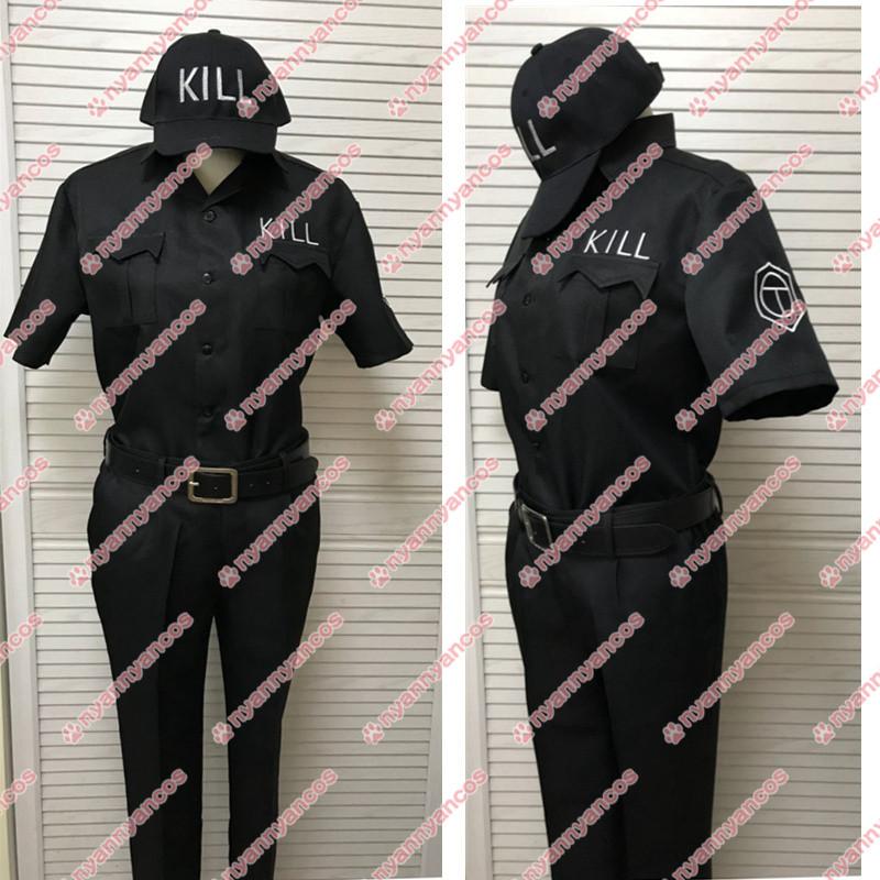 画像1: はたらく細胞 キラーT細胞 班長 コスチューム コスプレ衣装 (1)